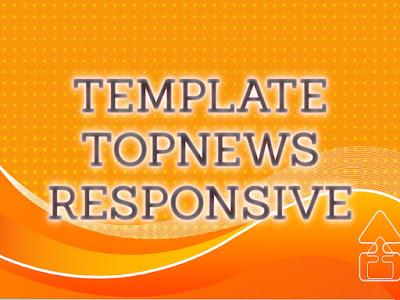 Template Terbaru 2017 Top News Seo Responsive Download Gratis