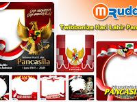 3+ Bingkai Twibbonize Hari Lahir Pancasila