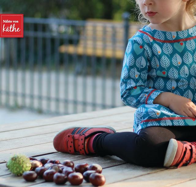 Sweatkleid Kids von Fadenkäfer aus Graziella Blätter
