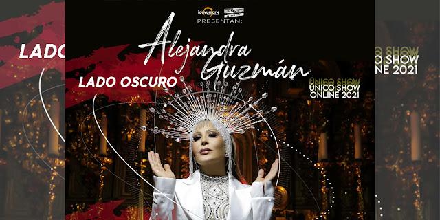 """Alejandra Guzmán prepara su único concierto en streaming 2021 """"Lado Oscuro"""""""