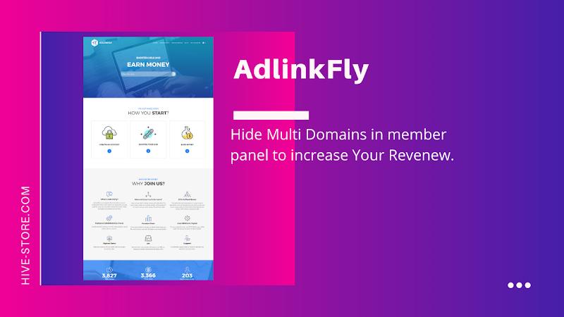 How To Hide Multi Domains in AdlinkFly Shortner Site - Responsive Blogger Template
