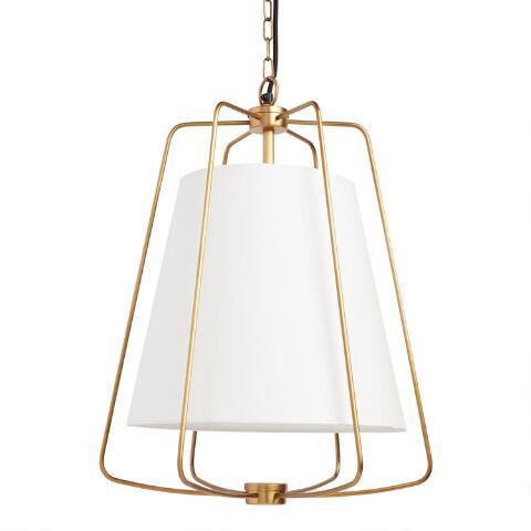 Parker brass and white light World Market
