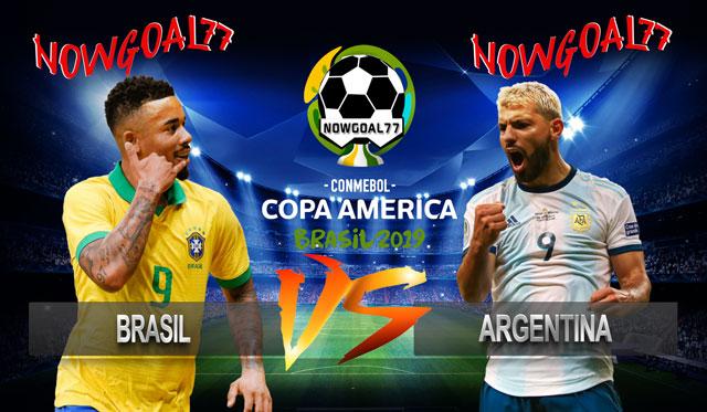 Prediksi Brasil VS Argentina 3 Juli 2019