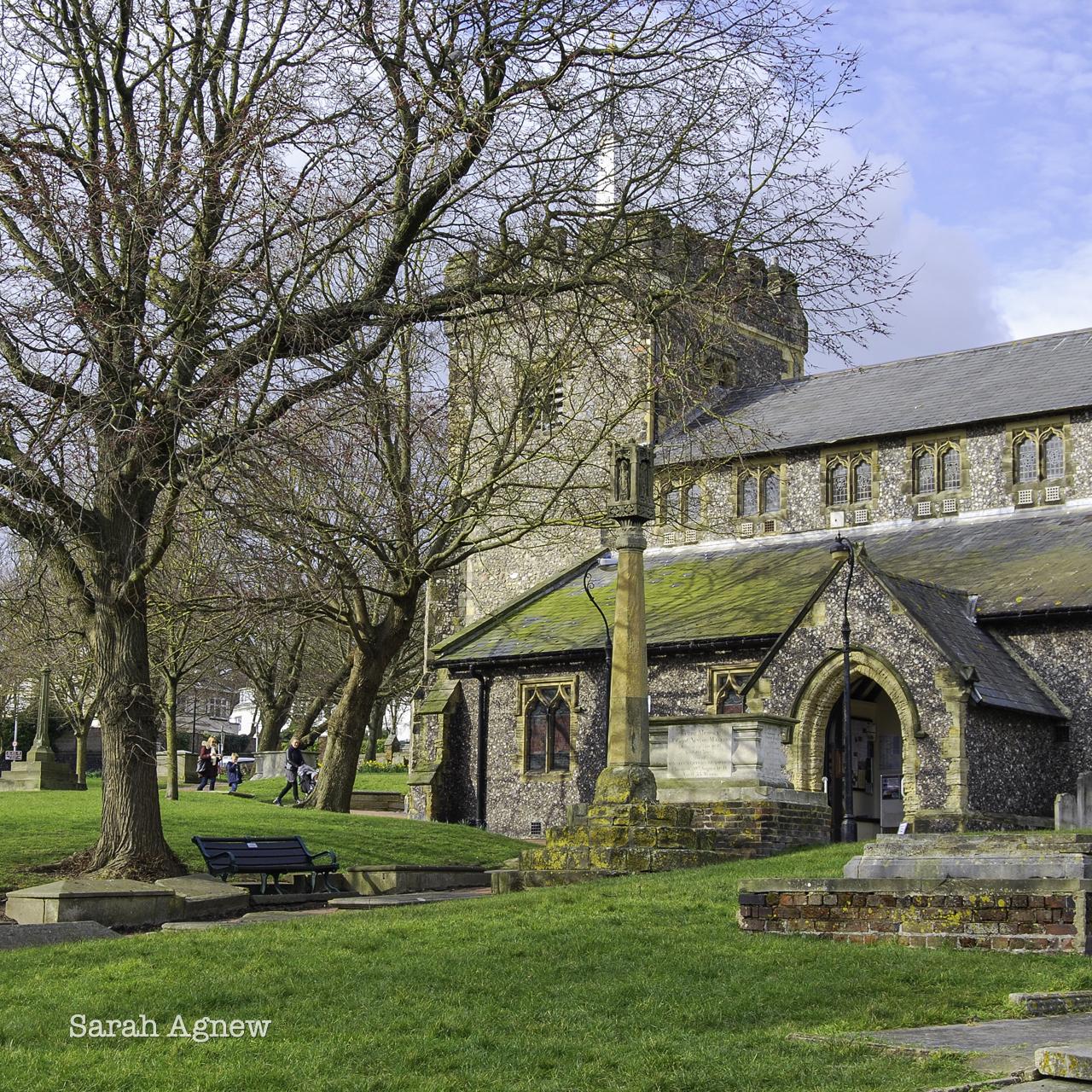 St Nicholas Church Brighton and the Eighteenth Century, photo by Sarah Agnew