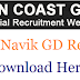Indian Coast Guard Navik GD Result 2019