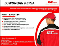 Lowongan Kerja di J&T Express Wonocolo Februari 2021