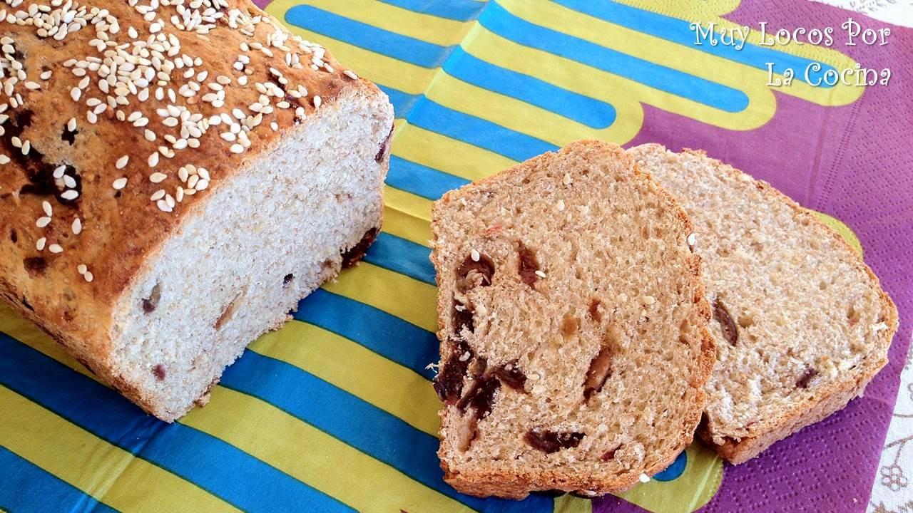 Pan de Dátiles, Miel y Sésamo