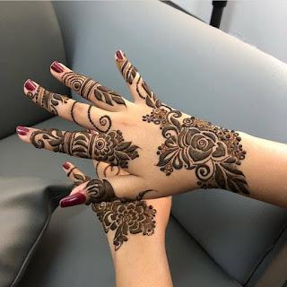 Arabic Mehndi Design Simple