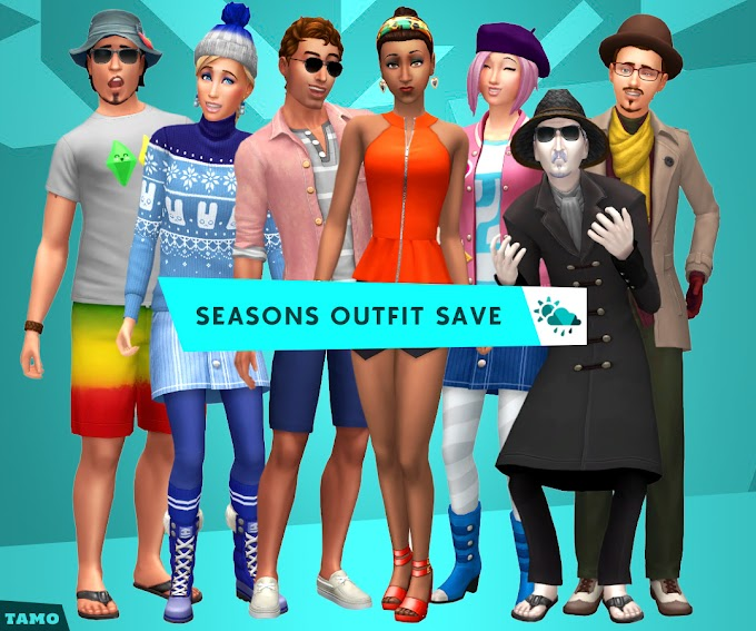 Seasons Outfit Save File