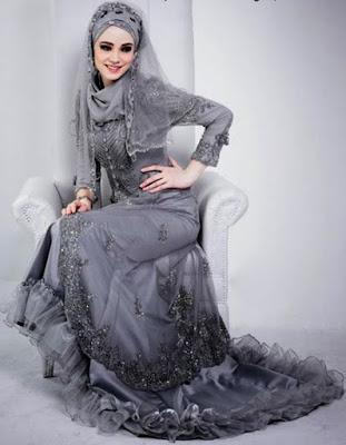 Gaun Pengantin Muslimah Baru