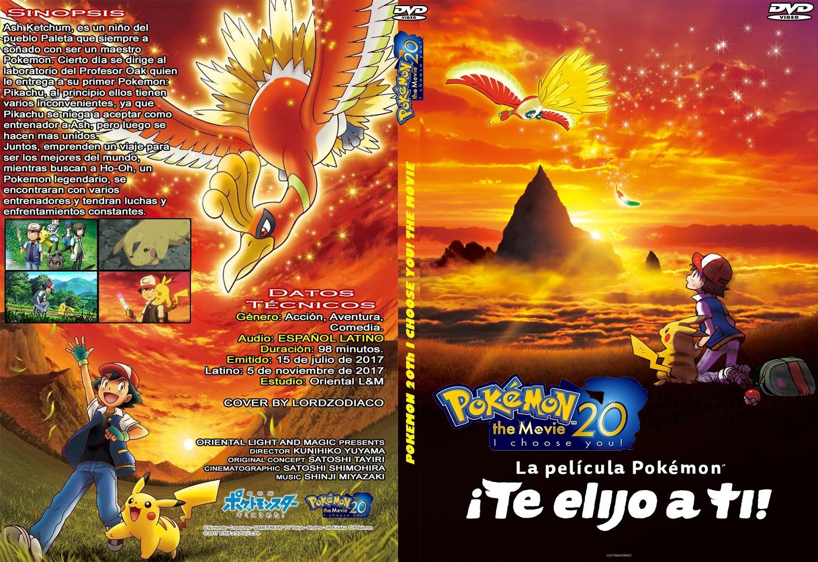 Pokemon 20 Te Elijo A Ti Pelicula Cover Dvd Lordzodiaco