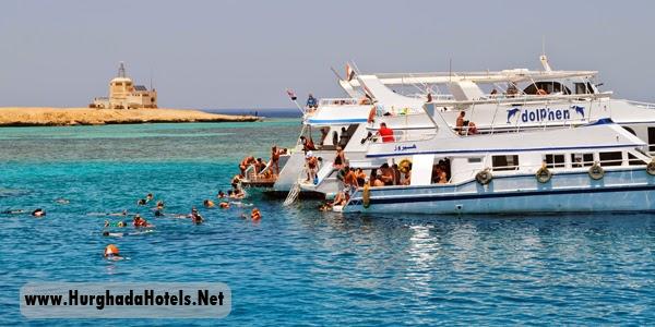 رحلة جزيرة الجفتون الغردقة , رحلة بحريه يوم كامل استمتع بالإسنوركل