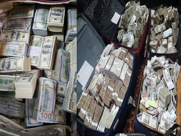 """الرقابة الادارية - القبض على مسئول كبير متلبس عقب تقاضيه رشوه """" 24 مليون جنيه مصرى و4 مليون دولار و2 مليون يورو ومشغولات ذهبية """""""