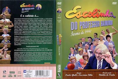 Série Escolinha do Professor Raimundo Turma de 1990 DVD Capa
