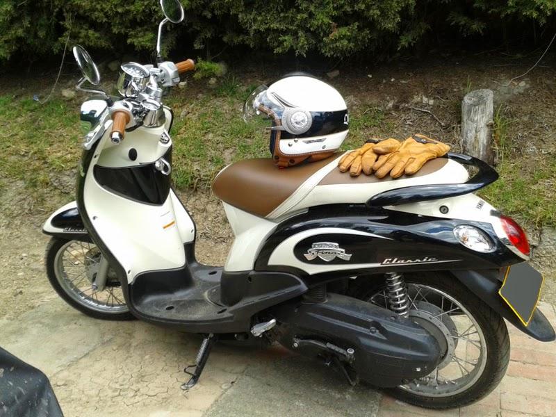 modifikasi motor mio fino classic  tahun ini