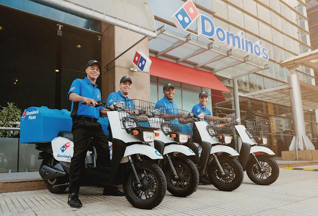 Domino's Pizza celebra el Día Mundial de la Bicicleta