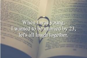 Orang Lain Dah Kahwin Aku Bila Lagi?