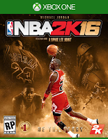 NBA 2K16 Xbox One MJ Cover