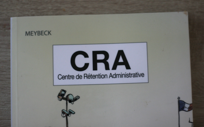 Couverture BD CRA Centre de Rétention Administrative