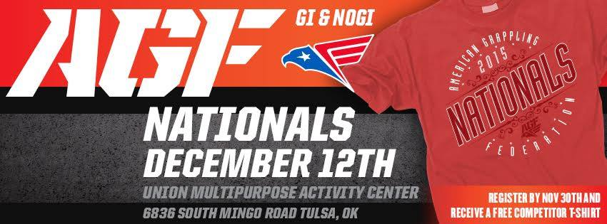 BJJ ONE NEWS: American Grappling Federation 2015 AGF Nationals