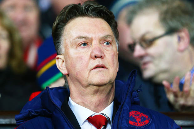 MAN UNDER PRESSURE: Van Gaal