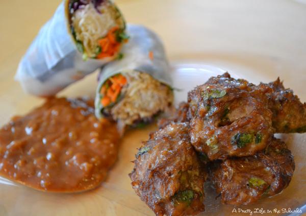 Vietnamese Chicken Bites & Summer Rolls