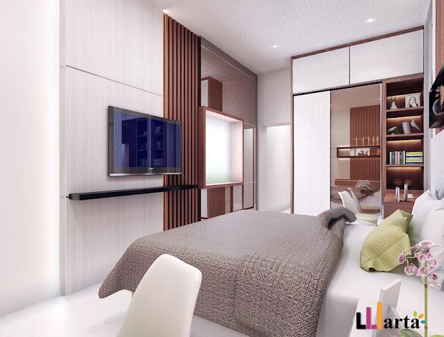Desain Interior Kamar Set Nila Kandi Lampung