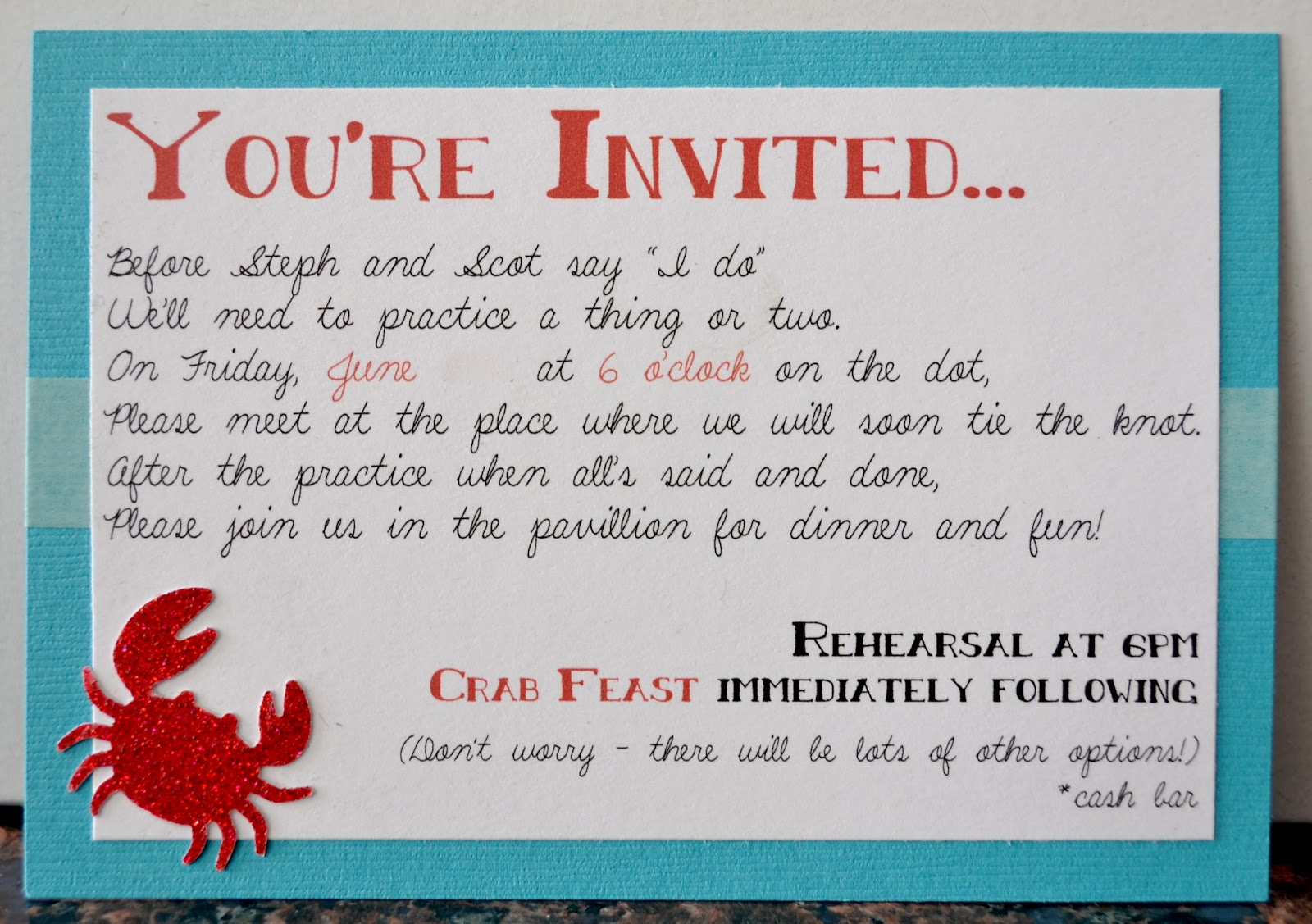 Funny Wedding Invite Poems