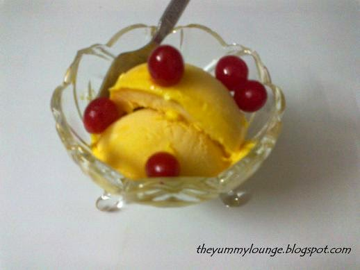 How to Make Quick Easy Mango Ice Cream Recipe