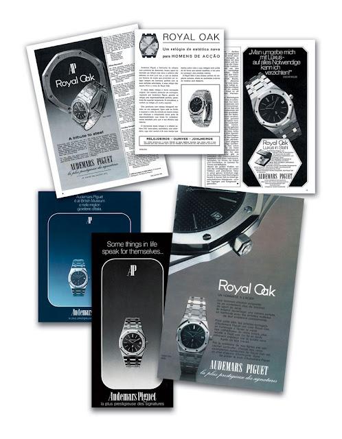 Audemars Piguet Royal Oak Advertisements