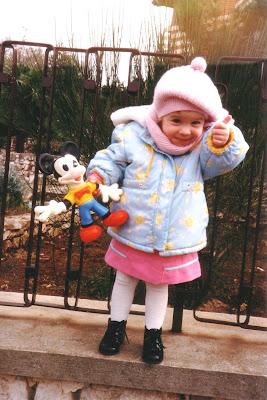 Silvana Calabrese da bambina infanzia Blog