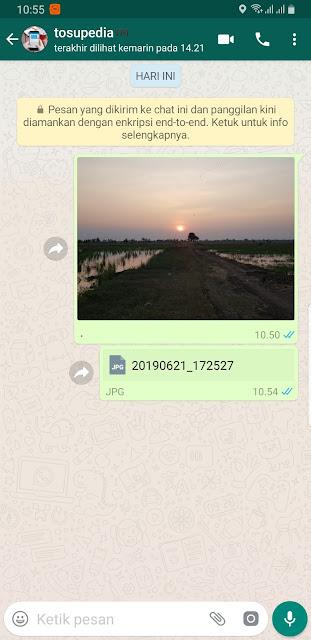 Cara Mudah Kirim Gambar/Foto Kualitas Tinggi di WhatsApp