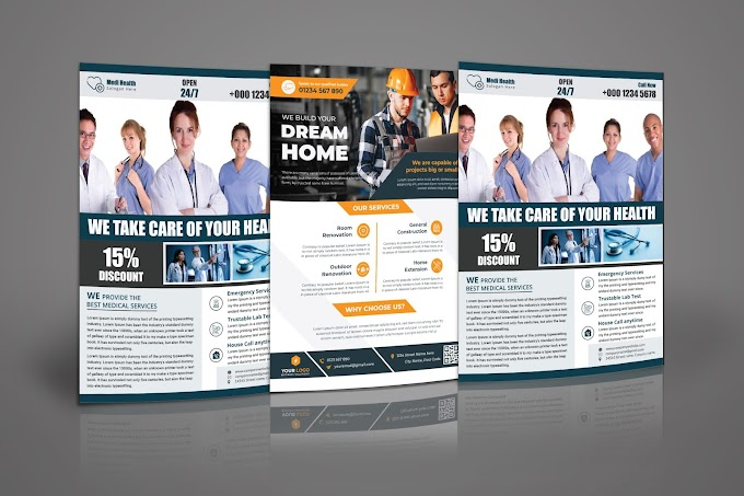 Professional Business Flyer Design by BD Online Marketing