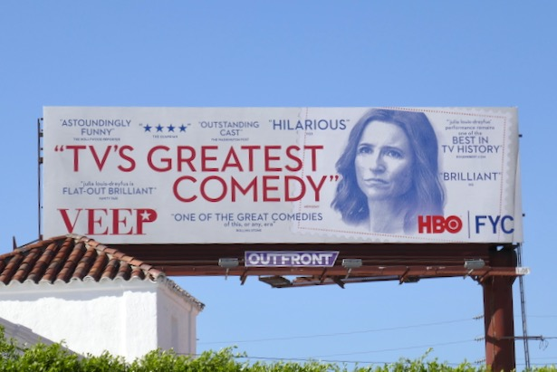 Veep final season FYC billboard