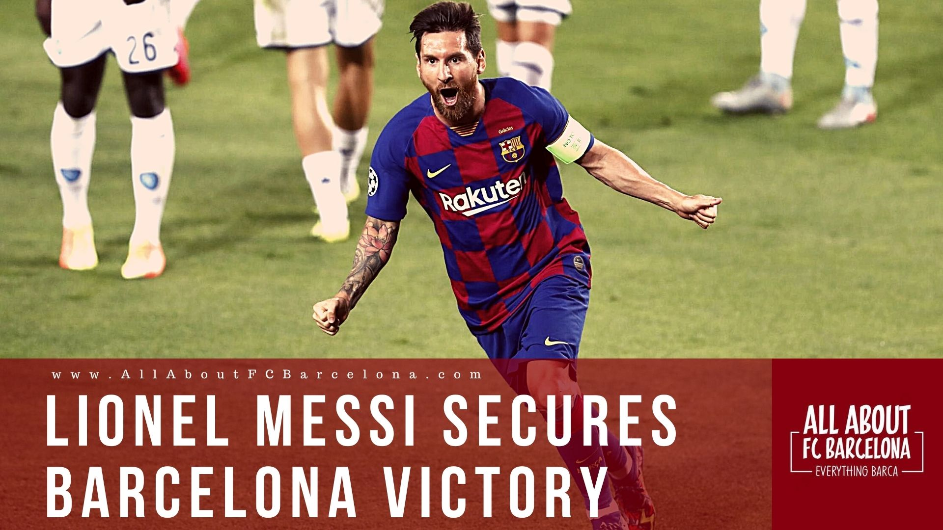 Lionel Messi Inspires Barcelona Victory