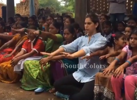 Upasana Day 8 Workout with Domakanda Village Housewives