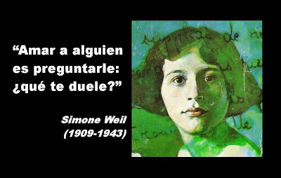 Resultado de imagen de una amiga bautizó a Simone Weil