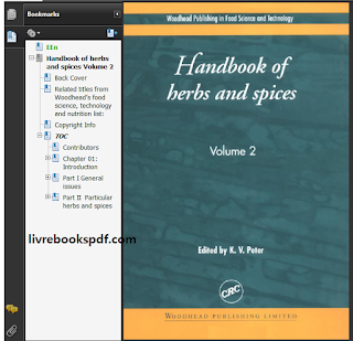 Download Handbook of Herbs and Spices - Volume 2 PDF