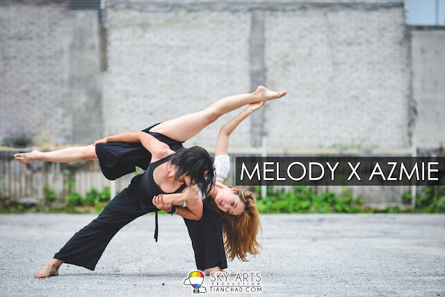 Melody x Azmie | Dancing In The City