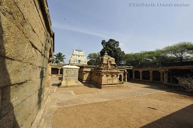 Early Hindu Temples Tamil Nadu Kaliapatti Pudukkottai Visalur