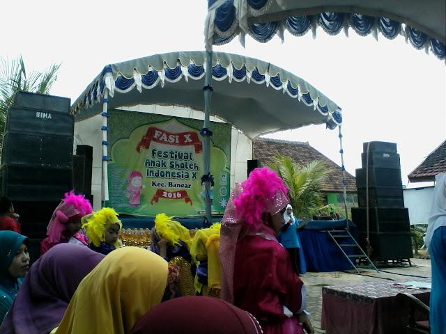 Semarak Festival Anak Sholeh Indonesia (FASI) Ke-X Kec.Bancar