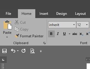 Penggunaan Quick Access Toolbar Microsoft Word 2016 ...