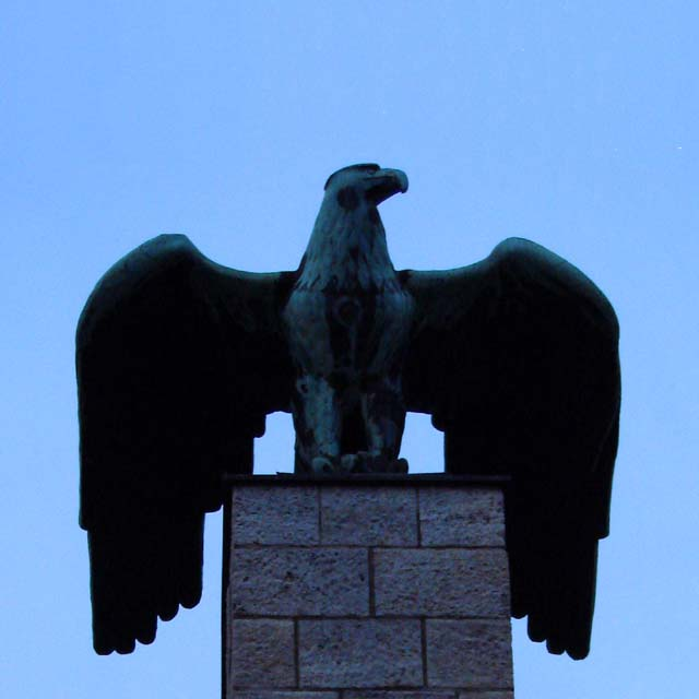 WW1 Memorial Imperial Eagle Nonnendammallee Berlin