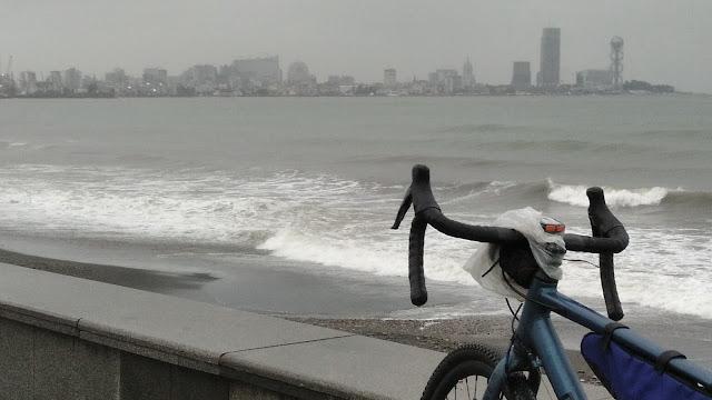 велосипедом в Батуми