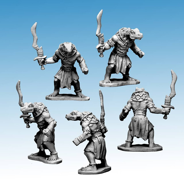 Osprey Games: New Frostgrave - Ghost Archipelago - Fantasy Wargames in the Lost Isles Miniature Tabletop Game Serpentman