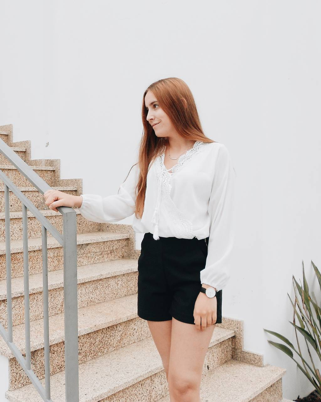 OOTD | WHITE BLOUSE FROM ROSEGAL