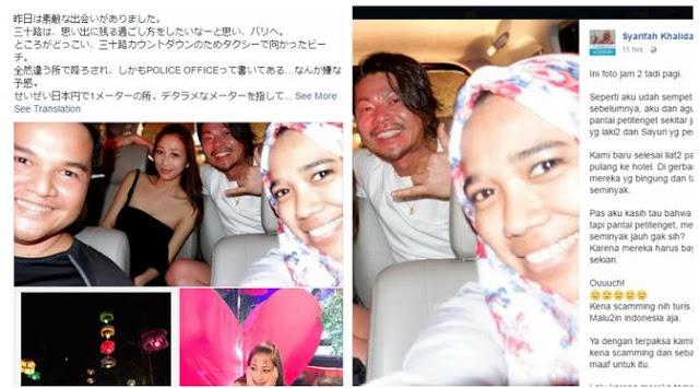 Kena Tipu Taksi di Bali, Turis Jepang Ini Diselamatkan Ida dan Adung