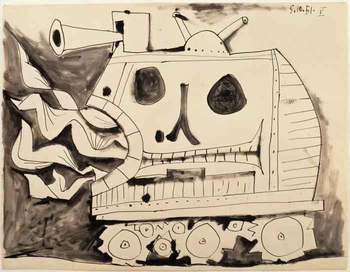 Пикассо Величайший художник войны 7