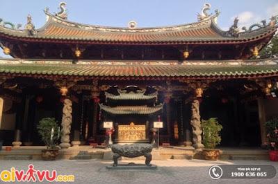 Đền Thian Hock Keng ở Singapore