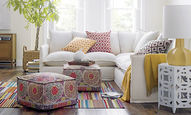 Pouf-a-palooza: Decorating with Poufs! | Driven by Decor